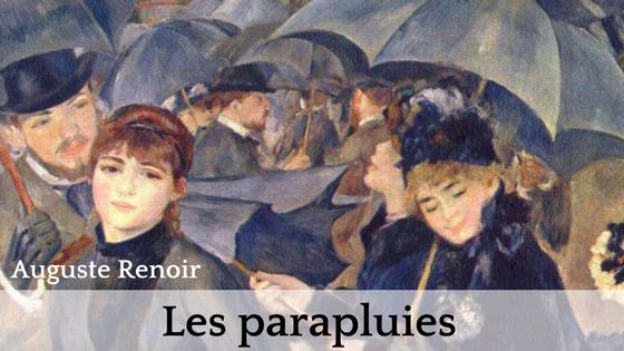 Les Parapluies Auguste Renoir Dentelle Pellicule